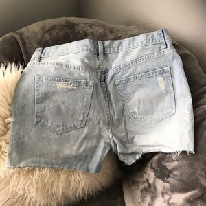 Gap High Rise Cut Off Shorts